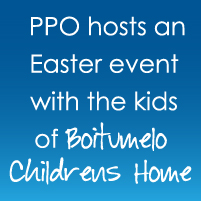 Project Portfolio Office hosts an Easter event for the kids of the Boitumelo Children's Home