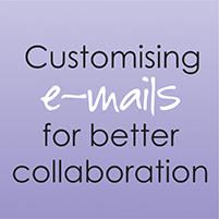Customising Emails Blog